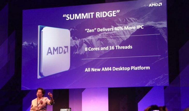 AMD Zen la Computex 2016