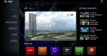 Aplicatia mobila Dolce Sport