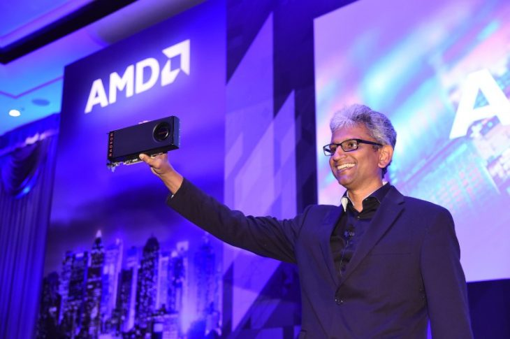 Prezentare Radeon RX 480 la Computex 2016 de către Raja Koduri