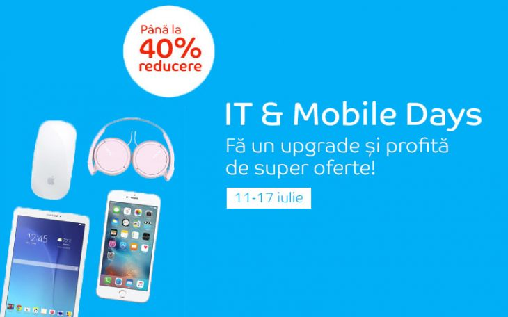 IT & Mobile Days la eMag - Iulie 2016