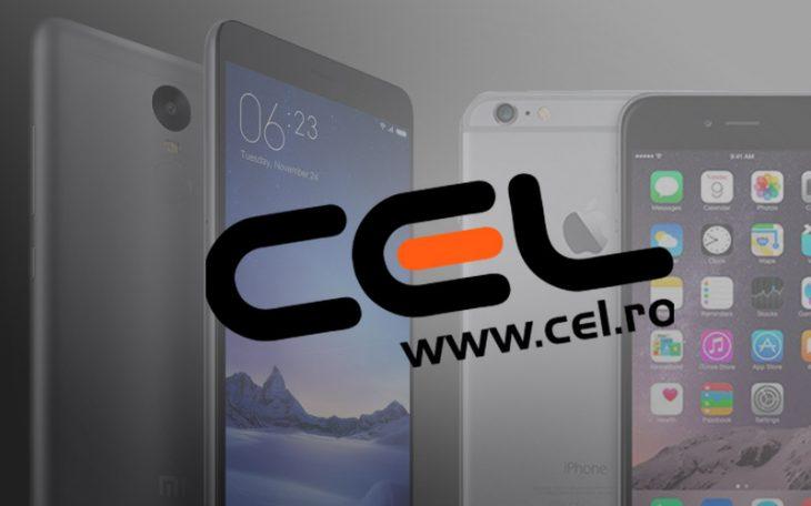Reduceri Cel.ro la Xiaomi si iPhone August 2016