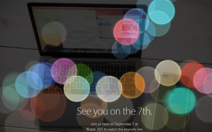 Eveniment Apple Septembrie 2016