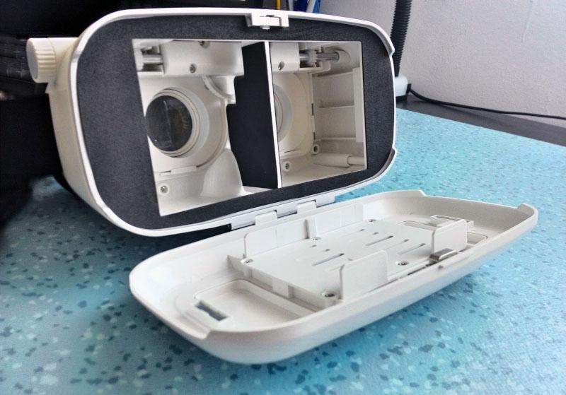Parte frontala Ochelari 3D VR Shinecon