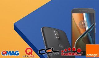 Lenovo Moto G4 și G4 Plus la eMag, Quickmobile, Cel.ro, evoMag și Orange