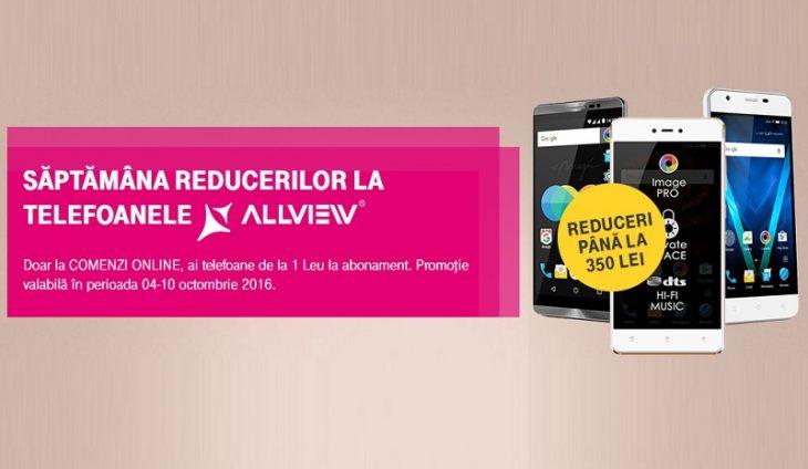 Promotie Allview la Telekom