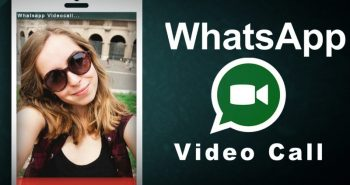 Apeluri video pe WhatsApp