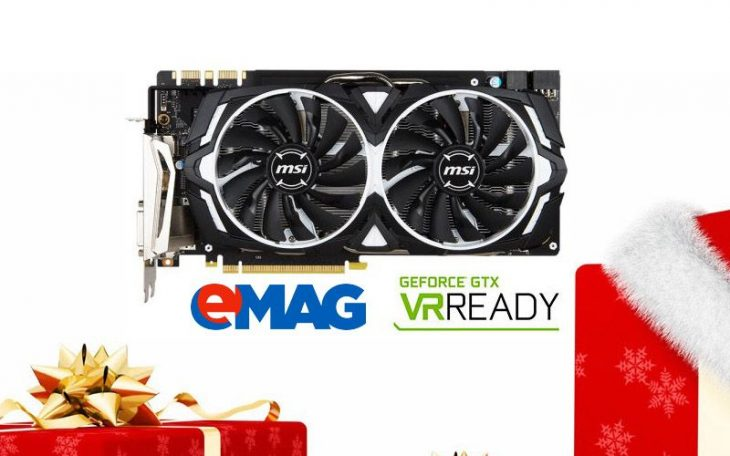 MSI GeForce GTX 1070VR Ready eMag