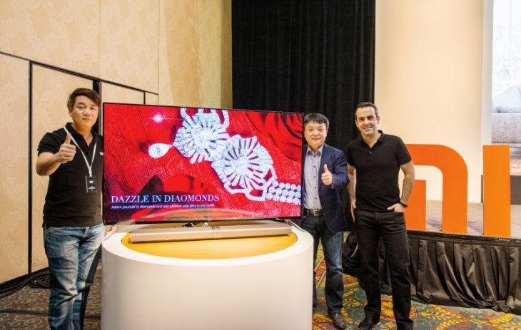 Mi TV 4 la CES 2017
