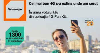 Extindere acoperire 4G la Orange