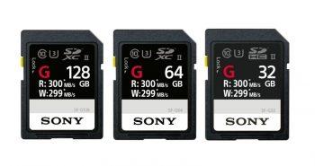 Cardurile de memorie Sony SF-G
