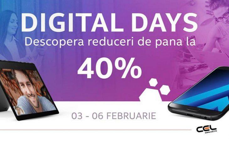 Digital Days la Cel.ro