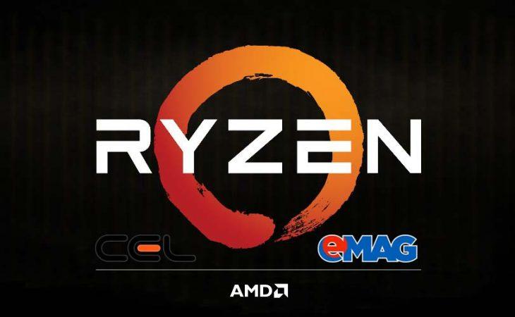 AMD Ryzen 7 la eMag și Cel.ro