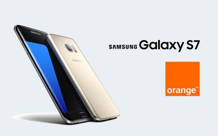 Samsung Galaxy S7 la Orange