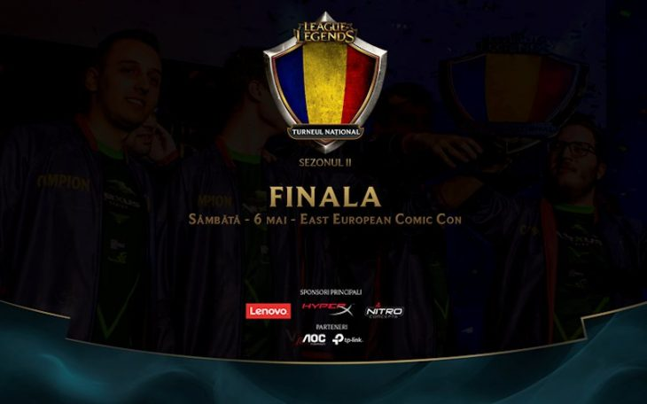 Finala Tunrneului National League of Legends
