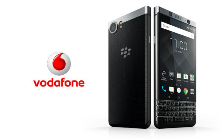 BlackBerry KEYone la Vodafone