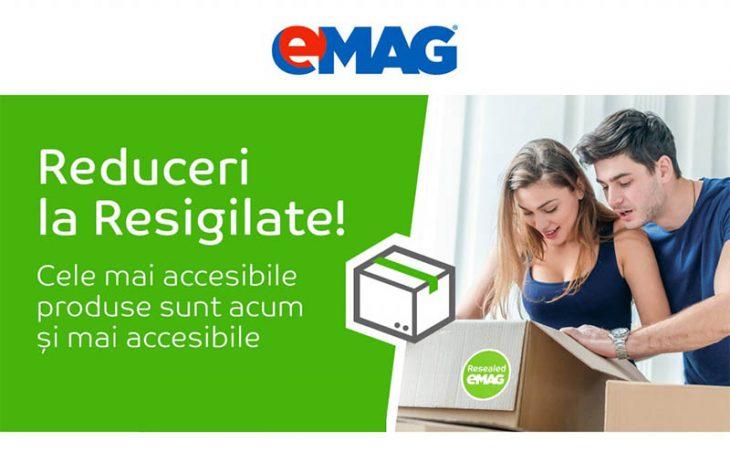 Reduceri produse resigilate la eMag