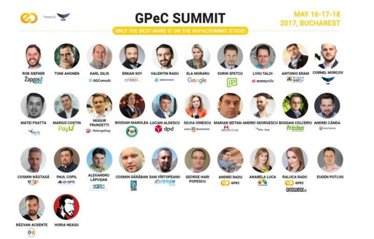 Speakeri la GPeC Summit din Mai 2017