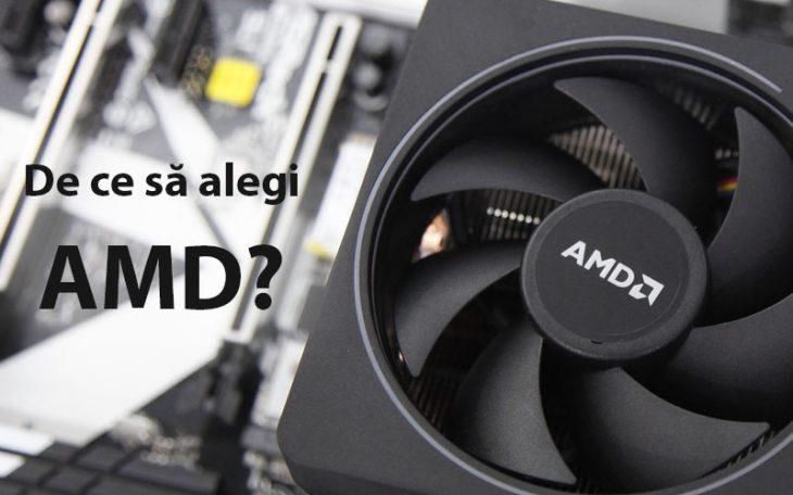De ce sa alegi un procesor AMD?