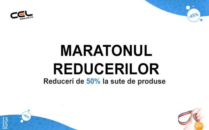 Maratonul Reducerilor la Cel.ro