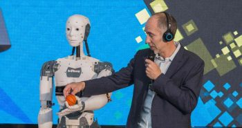 InMoov la Bucharest Technology Week