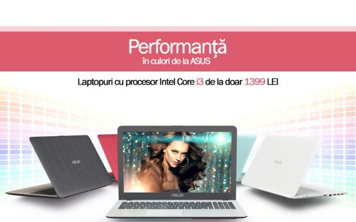 Promotie laptop Asus de la Cel.ro