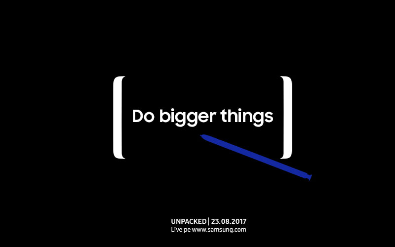 Samsung Galaxy Note 8 va fi lansat 23 August