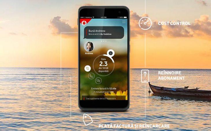 Aplicatia My Vodafone