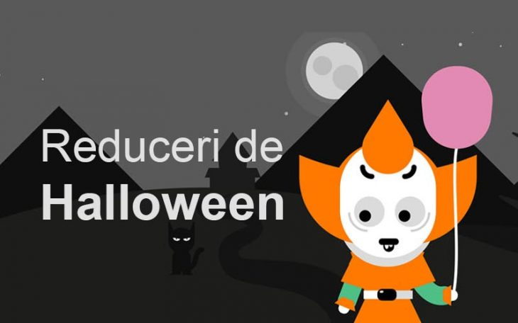 Reduceri la Orange de Halloween