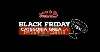Black Friday 2017 la evoMag