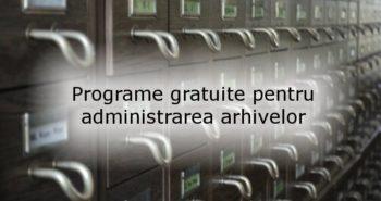 Programe gratuite pentru arhivarea și dezarhivarea fișierelor