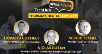 Consultanta gratuita EY Romania si TechHub Bucharest