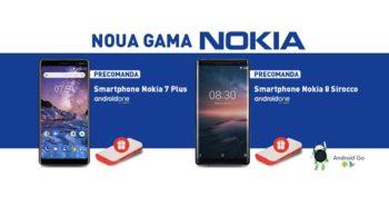 Nokia 7 Plus si Nokia 8 Sirocco la PCGarage