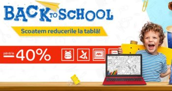 Oferte eMag Back to School