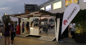 Caravana Magic Box de la Huawei