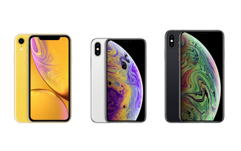 Apple iPhone XR, iPhone XS, iPhone XS Max