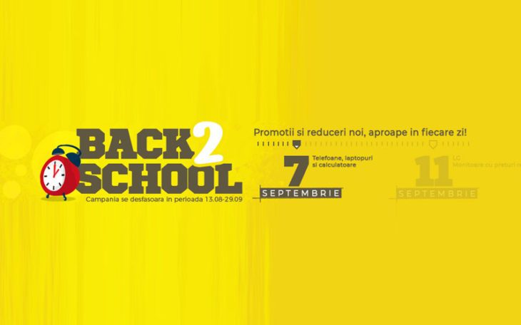 Oferte Back to School de la PC Garage