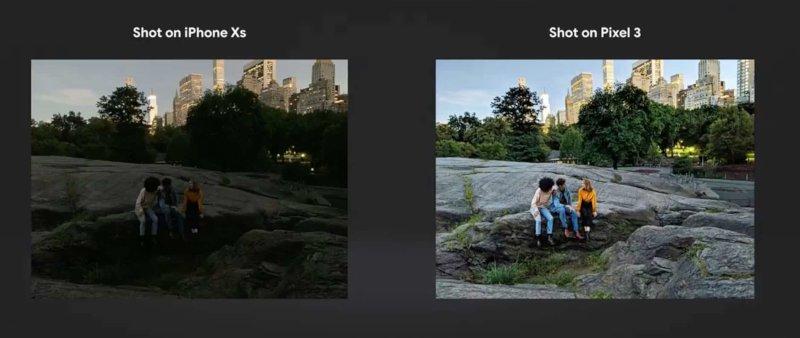 Fotografie Pixel 3