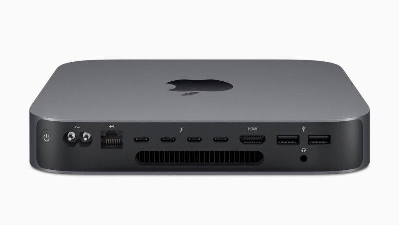 Porturi Apple Mac mini
