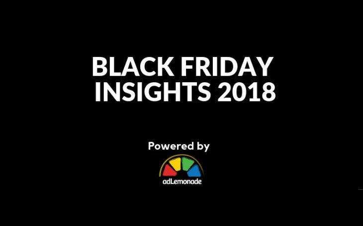 adLemonade - Black Friday Insights 2018