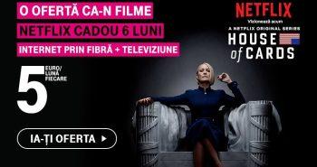 Oferta Telekom cu Netflix Cadou