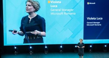 Violeta Luca la Microsoft Business Summit 2018