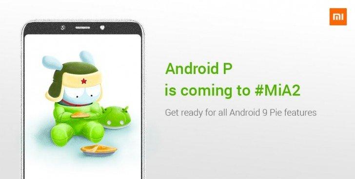 Android P - Xiaomi Mi A2