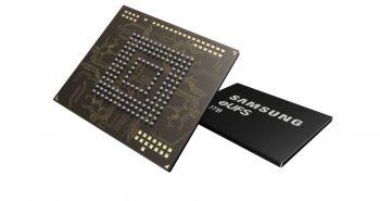 Memorie eUFS de 1TB de la Samsung