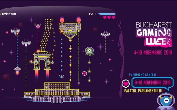 Bucharest Gaming Week - noiembrie 2019