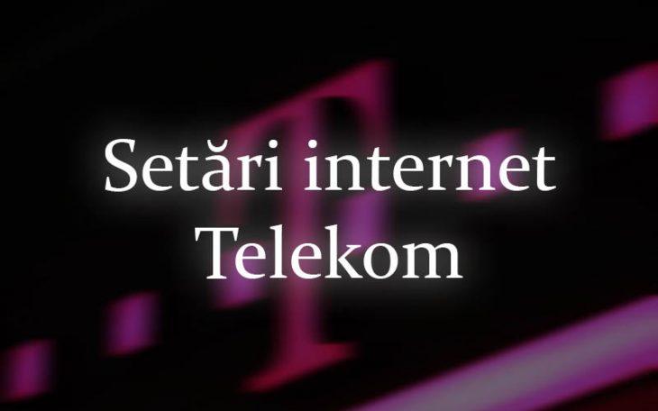Setări internet Telekom