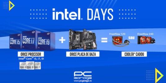 Intel Days: Te echipăm gratuit
