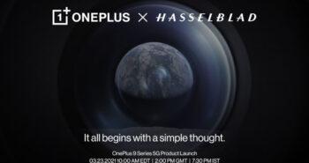 OnePlus si Hasselblad