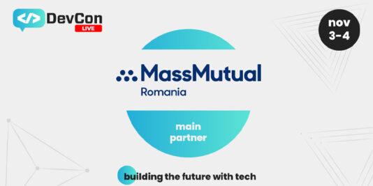 MassMutual România –Sponsor Principal la DevCon Live 2021