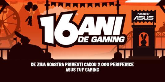 PC Garage - 16 ani de gaming